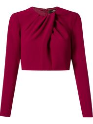 cropped pleated blouse Andrea Marques
