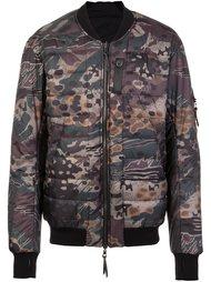 куртка-бомбер с камуфляжным рисунком 11 By Boris Bidjan Saberi