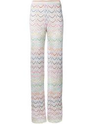 knitted palazzo pants Missoni