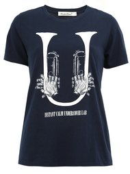 trumpet print T-shirt Undercover