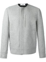 куртка без воротника Chalayan