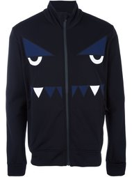 Fendi monster zipped sweatshirt Fendi