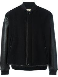 куртка-бомбер с панельным дизайном Marni