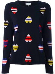 свитер с рисунком в виде сердец Chinti And Parker
