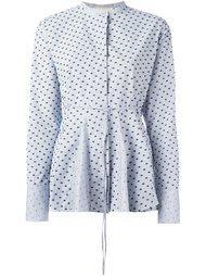 полосатая блузка с узким воротником Ports 1961