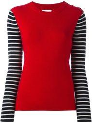 свитер с рукавами в бретонскую полоску Chinti And Parker