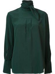 блузка с элементом шарфа Chloé