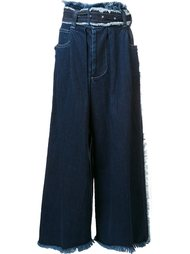 wide leg jeans  Miharayasuhiro