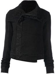 приталенная куртка с объемным воротником Rick Owens DRKSHDW