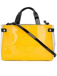 сумка-тоут с тисненным логотипом Armani Jeans