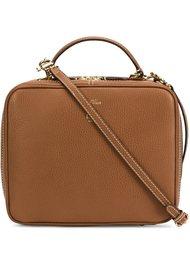zipped box bag  Mark Cross