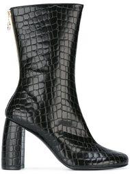 ботинки с эффектом крокодиловой кожи Stella McCartney
