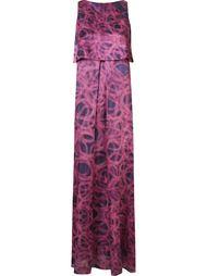 плиссированное платье  Fernanda Yamamoto