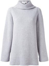 свитер с отделкой в рубчик Chinti And Parker