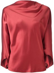 драпированная блузка Chalayan