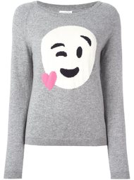 свитер с принтом смайлика Chinti And Parker