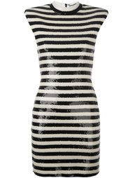 punk sleeveless dress Saint Laurent