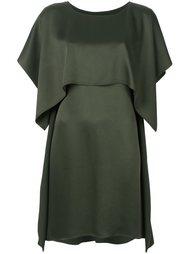 двухслойное платье  Mm6 Maison Margiela