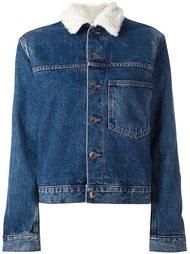 джинсовая куртка с нагрудным карманом Helmut Lang