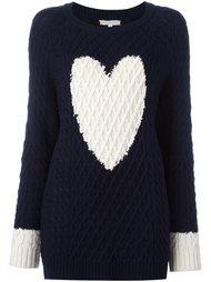 свитер с принтом сердца  Chinti And Parker