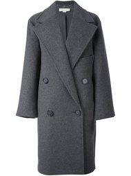 объемное двубортное пальто Stella McCartney
