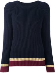 свитер с контрастной отделкой Chinti And Parker