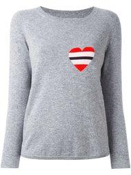 свитер с логотипом в виде сердца Chinti And Parker