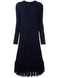 трикотажное платье Tory Burch