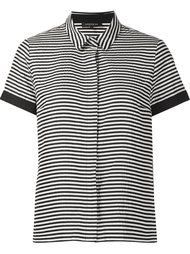 striped shortsleeved shirt Lafayette 148