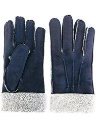 перчатки из овчины Canali