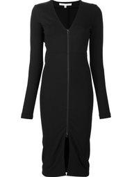 облегающее платье с V-образным вырезом Veronica Beard