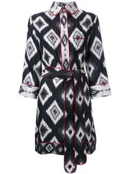 платье с длинными рукавами и геометрическим принтом For Restless Sleepers