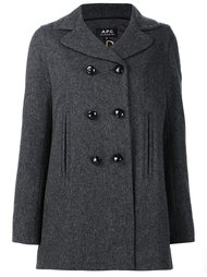 double breasted coat  A.P.C.
