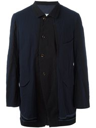 куртка с контрастной панелью Ziggy Chen