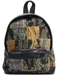 рюкзак с камуфляжным принтом Palm Angels