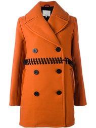 двубортное пальто со шнуровкой 3.1 Phillip Lim