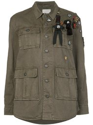 patch detail military jacket Cinq A Sept