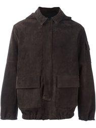 замшевая куртка с капюшоном Road To Awe