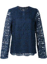 embroidered blouse  Jenni Kayne