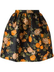 floral jacquard skirt  MSGM
