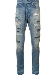 destroyed slim-fit jeans John Elliott