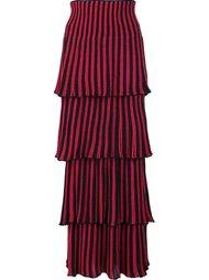 layered ribbed skirt Sonia Rykiel