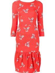 floral print dress Preen By Thornton Bregazzi