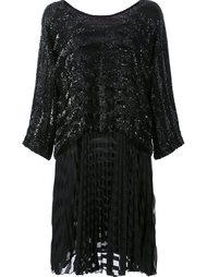 платье с отделкой пайетками Loyd/Ford