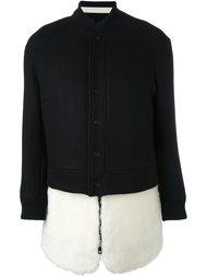 куртка-бомбер с застежкой на кнопки  The Reracs