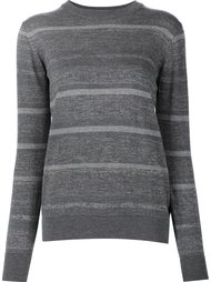 striped crew neck jumper Mih Jeans