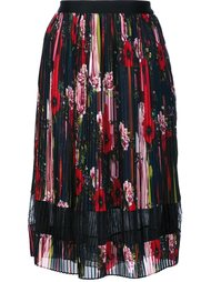 floral pleated skirt  Jason Wu