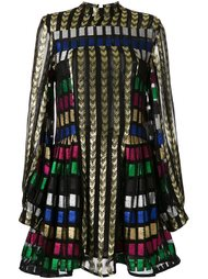 mosaic detail dress Dodo Bar Or