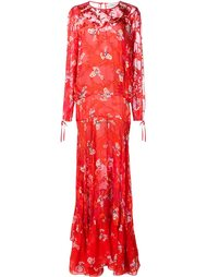 floral print maxi dress Preen By Thornton Bregazzi