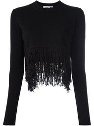 свитер с необработанными краями   McQ Alexander McQueen
